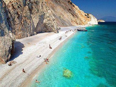 Lalaria beach in Skiathos