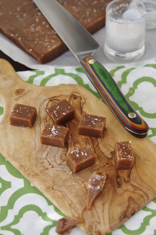 Nutella Sea Salt Caramels