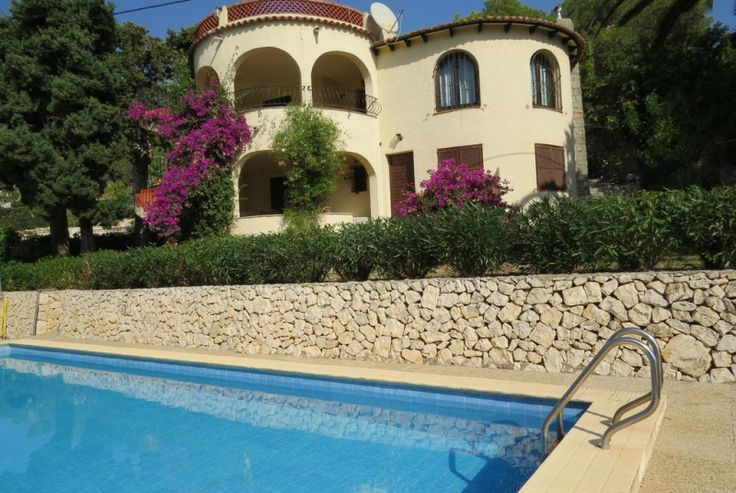 Holiday home Moraira costa blanca Villa Spain for rent Poppe