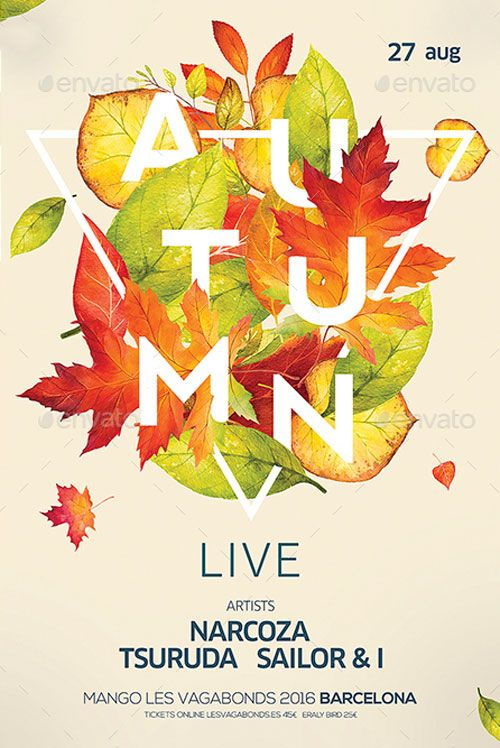 Autumn Live Event Flyer Template - http://ffflyer.com/autumn-live-event-flyer-template/ Enjoy downloading the Autumn Live Event Flyer Template created by DusskDesign   #Beats, #Club, #Dance, #Disco, #Dj, #Edm, #Electro, #Event, #Party, #Summer, #Techno, #Trance