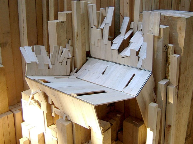 Migrating Landscapes: Cultural memories come packed with the moving boxes. Architecture competition looks at migration experience in Canada: 'Every time that you pick up this object and move it somewhere else, it's getting picked up, scuffed, used — that's really about how you feel.': Unfold Boxes, Migration Landscape, Moving Boxes