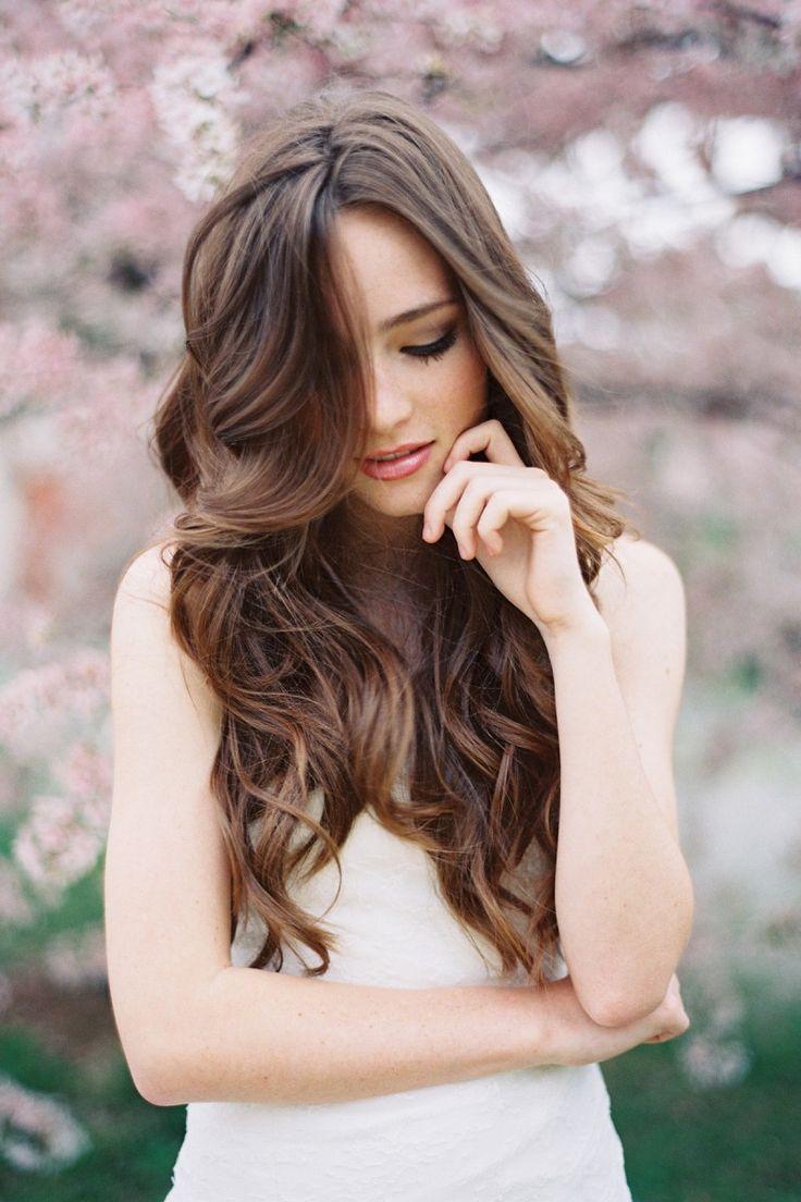 waves: Hair Ideas, Hair Colors, Hairstyles, Hair Styles, Haircolor, Long Hair, Makeup