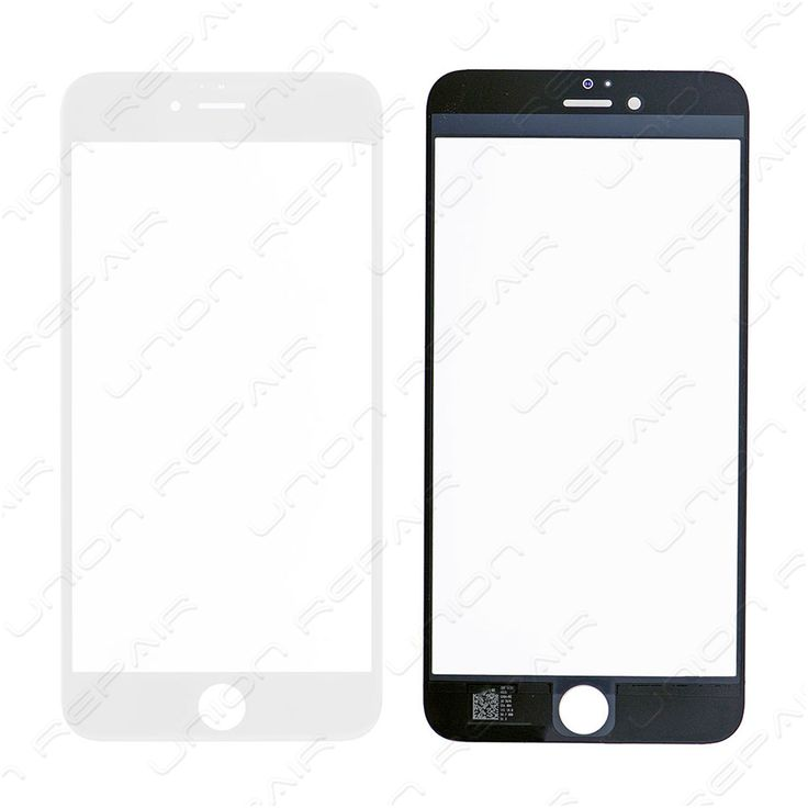 Replacement for iPhone 6S Plus Front Glass - White    Specifications:  Color:White  Screen Size: 5.5 inches  Material: Shatter proof glass, oleophobic coating  Compatibility: Apple iPhone 6S Plus    F...