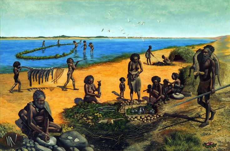 More recently however this theory seems to be disproved as new evidence indicate that in fact Australians Aborigines were the first people in America.