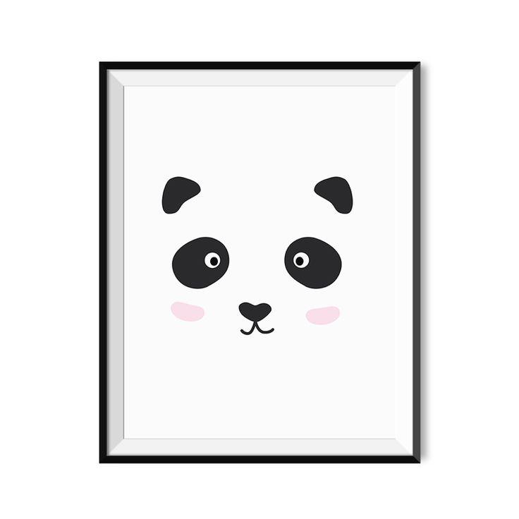 Panda - plakat Lemon Ducky