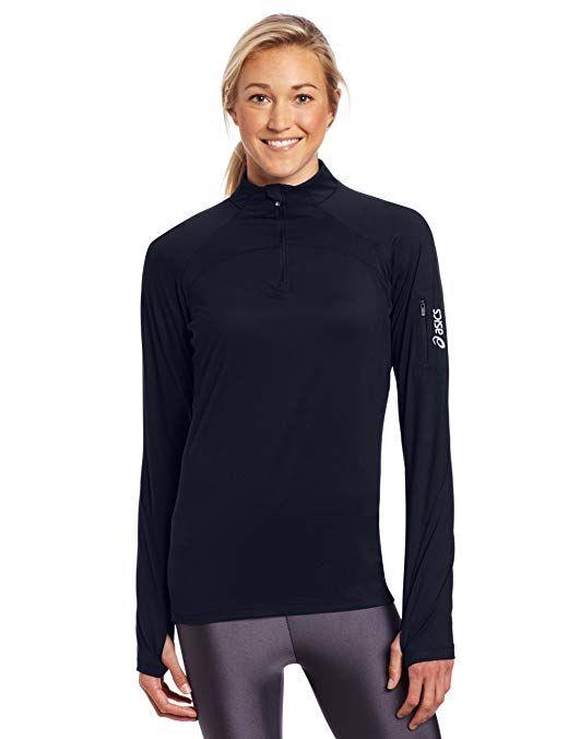 ASICS Women's Team Tech Half Zip Review   Running clothes, Asics ...