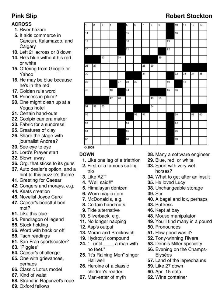 Crossword Puzzles For Adults Best Coloring Pages For Kids Free Printable Crossword Puzzles Crossword Puzzles Word Puzzles Printable