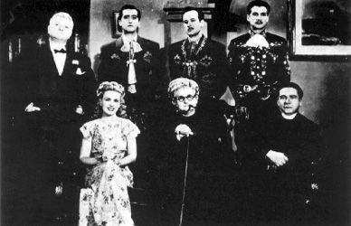 Los tres García (1946)  México Blanco y Negro  Reparto: Sara García , Pedro Infante