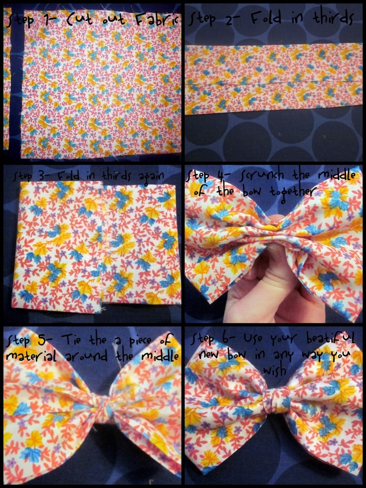 Bow Tutorial will make soooo many!!!!!!