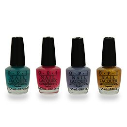 Duty Free SKINCARE: OPI #ForMyGf #Colourful #BittingNails