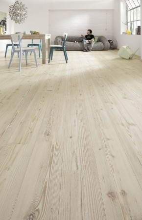 Meister Laminat LD 200 Fichte weiß Landhausdiele | Parkett-Store24