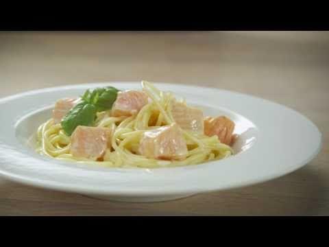 Laks med pasta - Godfisk (reklamefilm)