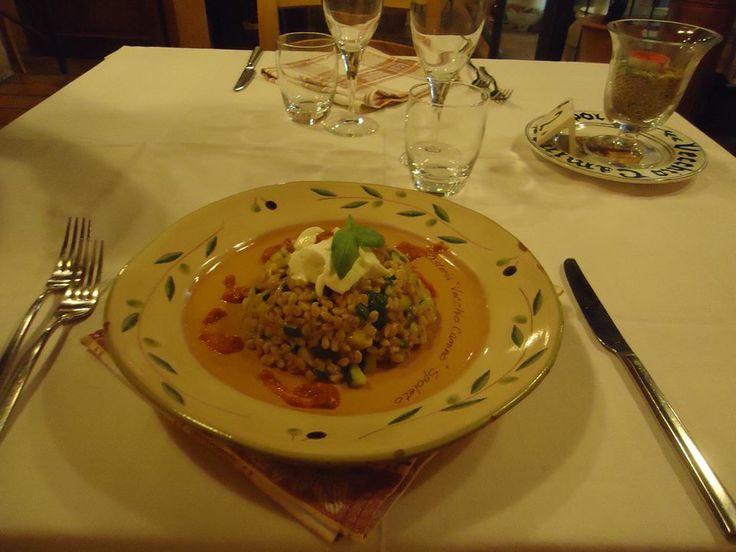 #risotto #osteria Vecchio Camino #spoleto #gourmet | Con la card mangiate in due a metà prezzo!