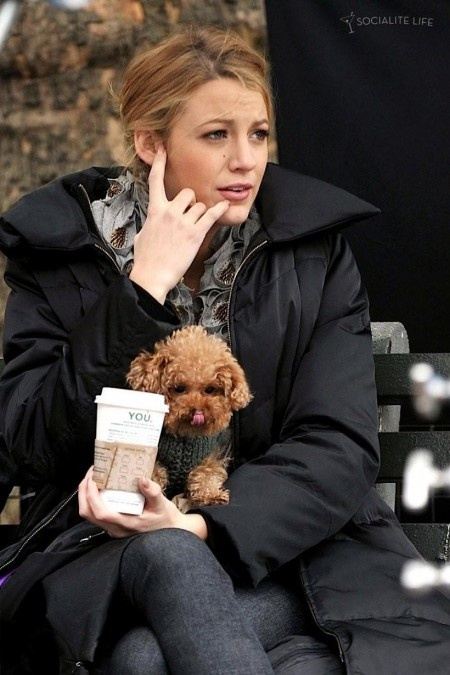 Blake Lively and Penny!