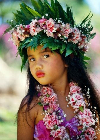 Tahiti....such a beautiful child!
