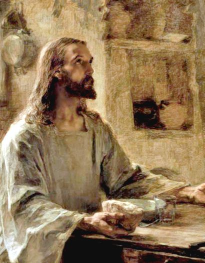 Waiting For The Word  Face of Jesus Christ, Head of Christ