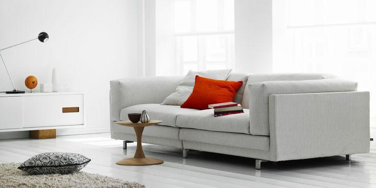 Além do design sofisticado, o sofá Tub da Eilersen é extremamente confortável!