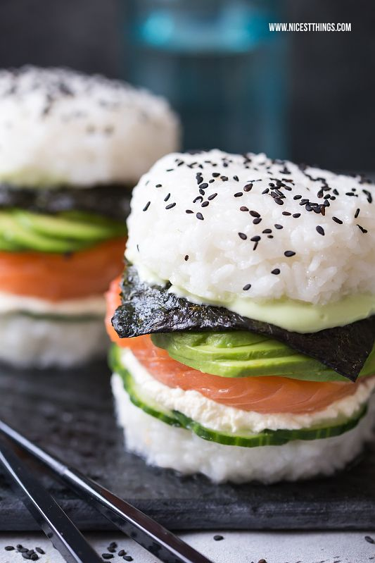 Sushiburger, der neue Hybrid Food Trend