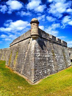 Castillo de San Marcos  St Augustine, FA