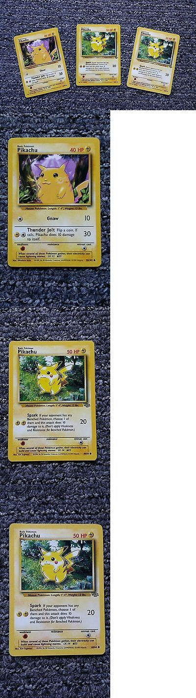 Pok mon Mixed Card Lots 104049: Rare Pikachu Pokemon Cards 58 102 Purple Background And 60 64 Green Background -> BUY IT NOW ONLY: $575 on eBay!