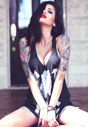 Tattoo Model - Cami Li?