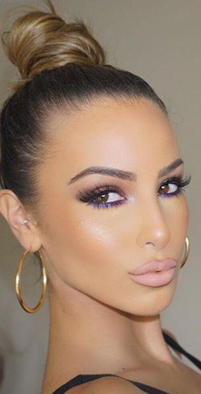 Beste Haarfarbe für braune Augen – 43 glamouröse Ideen zum Lieben