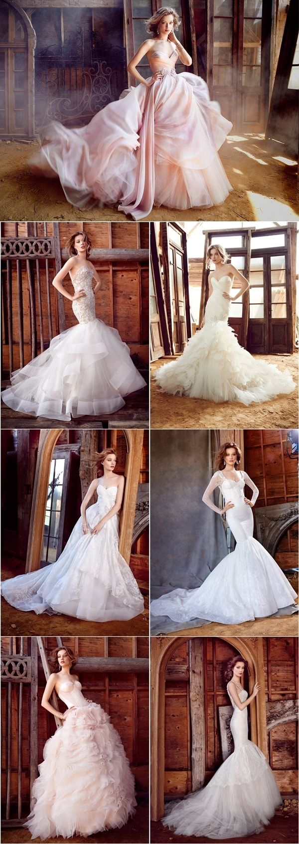 Lazaro Spring Wedding Dresses 2016 | http://www.deerpearlflowers.com/lazaro-spring-wedding-dresses-2016/