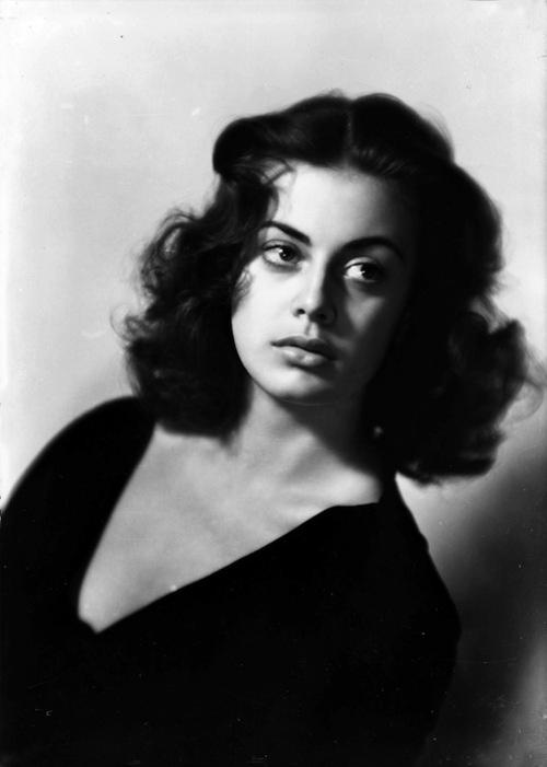 Anna Maria Ferrero, c1960 (Manlio Villoresi)