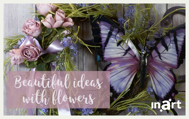 Beautiful ideas with flowers