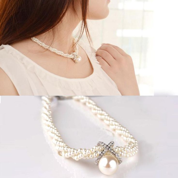 You will love this one: Women Girls Choke... Buy this now or its gone! http://jagmohansabharwal.myshopify.com/products/women-girls-choker-pearl-necklace-pendant-fashion-jewelry?utm_campaign=social_autopilot&utm_source=pin&utm_medium=pin