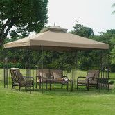 Found it at Wayfair - Parlay 12 Ft. W x 10 Ft. D Steel Gazebo