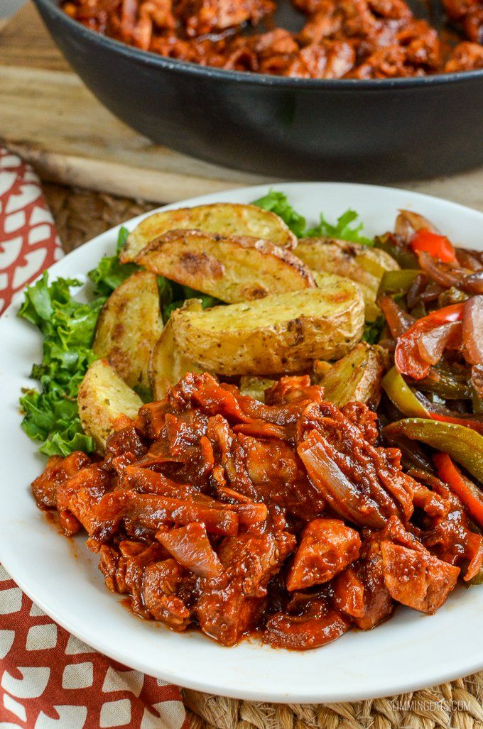 A simple quick and perfectly delicious Low Syn recipe for Stove Top BBQ Chicken that the whole family will love.