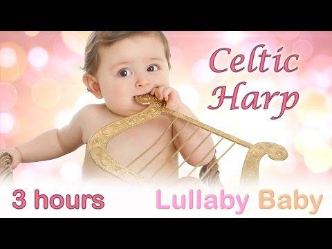 ☆ 3 HOURS ☆ Beautiful CELTIC HARP ♫ ☆ Lullaby Baby Bedtime Sleeping Music ☆ Baby Sleep Songs - YouTube
