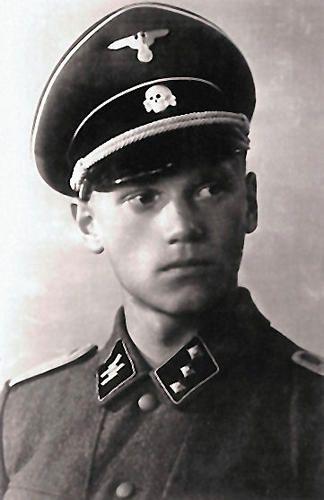 SS-Untersturmführer Lauri Törni a.k.a. Larry Thorne. 1941