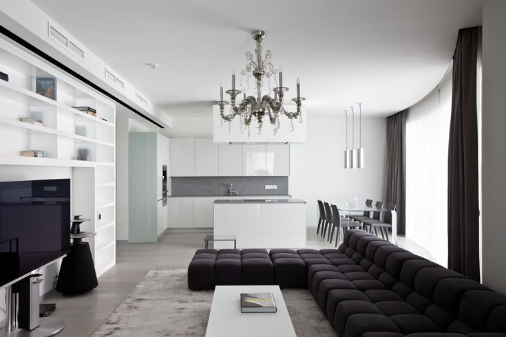 Apartment in Mirax Park by Boris Borovsky Uborevich (5)