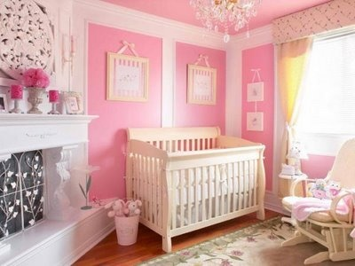 10 best images about pink baby rooms on pinterest pink 10155 | 3b13839e95702b4373b86a6602350aab