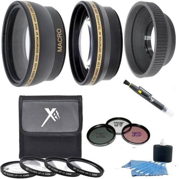 7PC Accessory Kit for Canon PowerShot SX50 SX40 HS SX30 SX20 SX10 IS
