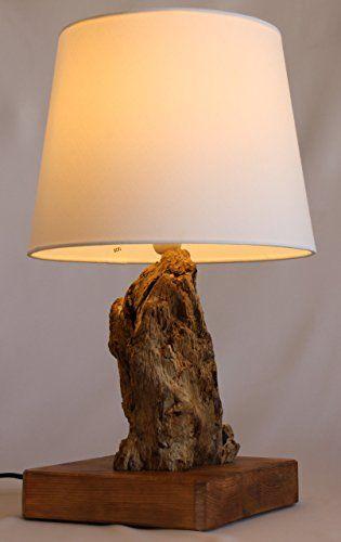 TreibKunst Design Tischlampe Aus Treibholz BALTIC LOG
