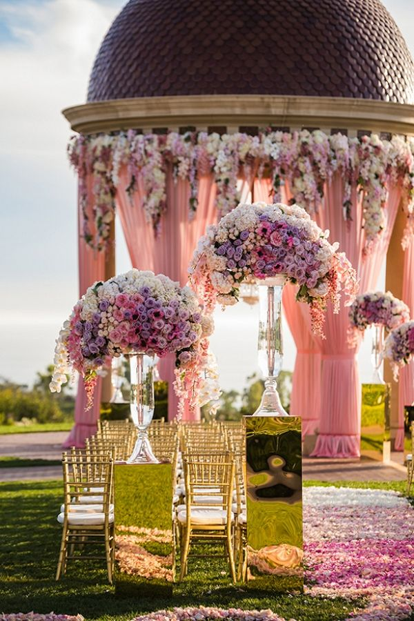 """Are you ready to get inspired to create the perfect setting to say """"I do""""? Well, today we are bringing you some gorgeous wedding ceremony ideas that are anything but average!!! 