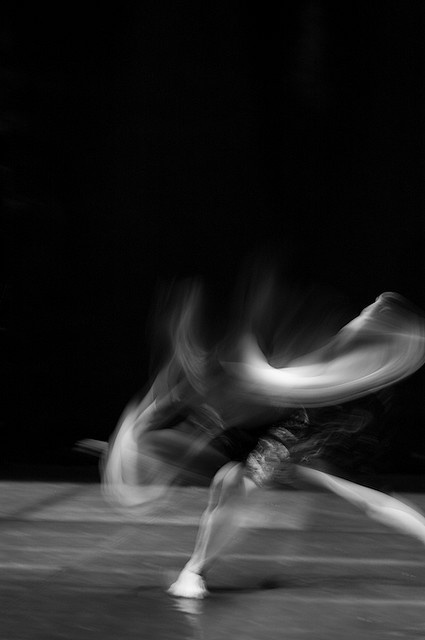 Motion in dance / Ghosts of dance!