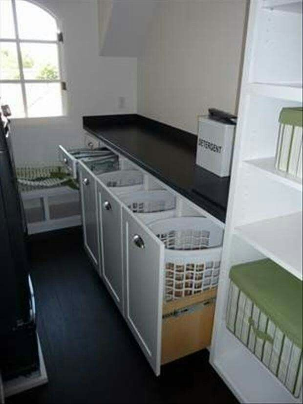 My home will have a big laundry room! More
