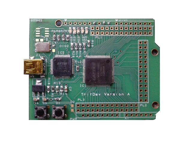 TRIFDEV a re-programmable FPGA I/O expander for Arduino by Roy Bunce — Kickstarter. Help and begginer orientated.