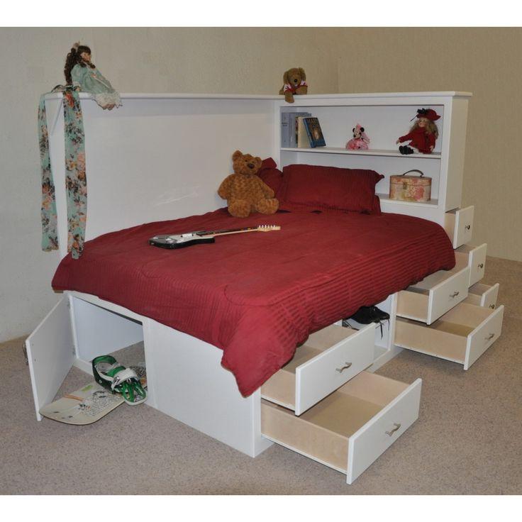 Orlando Platform Bed w' Storage