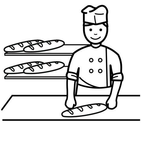 bakker / vendedor
