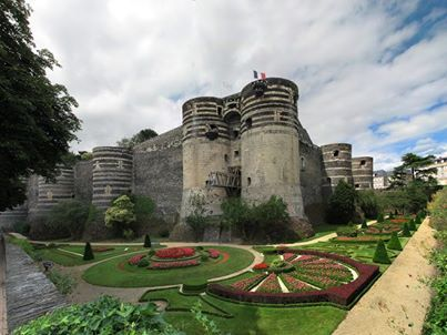 Chateau, Angers, France  My favorite :)
