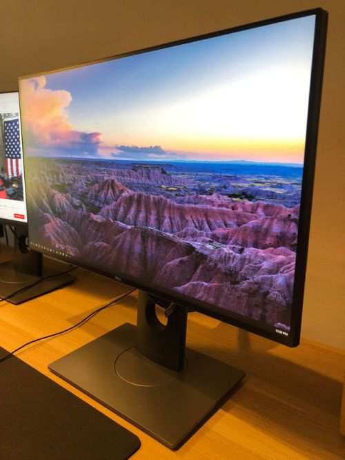 Dell Ultrasharp LED LCD Computer Monitor - 24 Inch Full HD