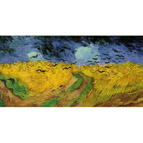 Reprodukcje obrazów Vincent van Gogh Wheat Field with Crows - Fedkolor