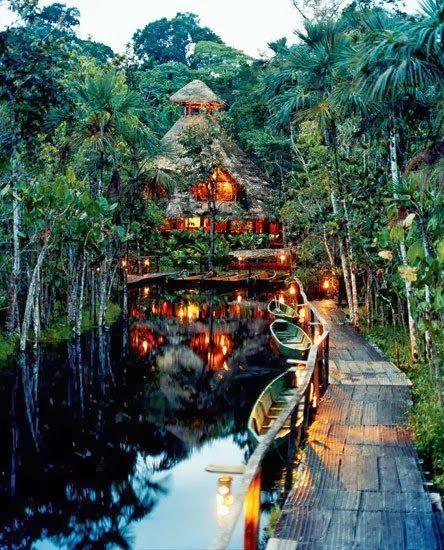 Stunning Views: Sacha Jungle Lodge, Amazon Primary Rainforest Lodge Ecuador