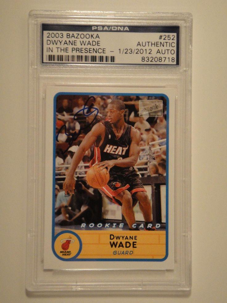 Park Art|My WordPress Blog_Dwyane Wade Rookie Card Autograph