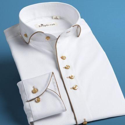 High Quality Mens Shirt, French Style Cotton Shirt, Wedding Shirt
